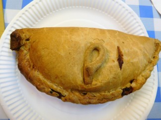 A real Cornish pasty.