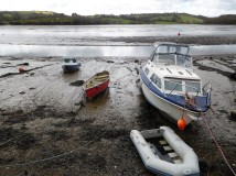 Seaworthy? Tides out.