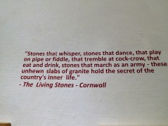 Quote from Ithell Colquhoun's 1957 book, The Living Stones