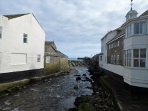 River in the fishing port of Newlyn