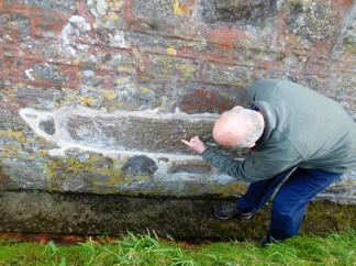 The church at Paul has a Celtic cross built into its foundation, members recently discovered.