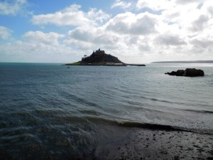 Tide's in at St Michael's Mount, Marazion.
