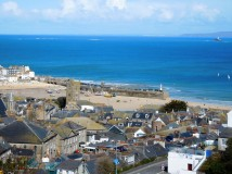 St Ives looking out over the Atlantic.