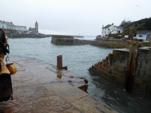 Porthleven is home to both small pleasure and fishing vessels.