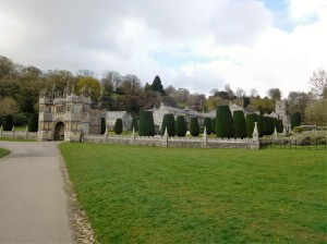 Lanhydrock, a Victorian house.