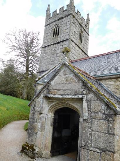 The church at Lanhydrock.